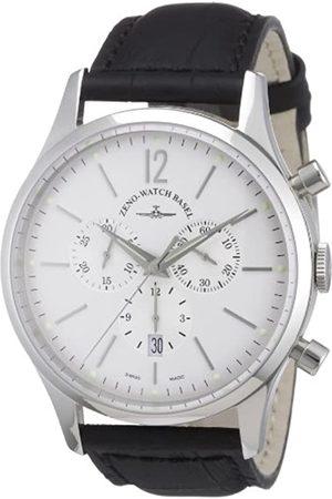 Zeno 6564-5030Q-i2 - Reloj analógico de Cuarzo para Hombre con Correa de Piel
