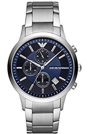 Emporio Armani Hombre Relojes - Reloj Cronógrafo para Hombre de Cuarzo con Correa en Acero Inoxidable AR11164