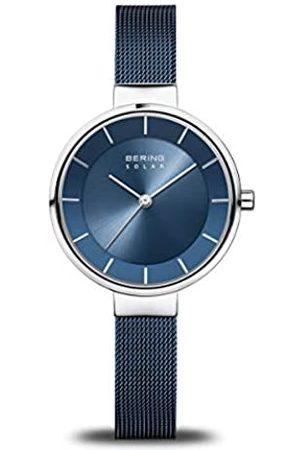 BERING Mujer Relojes - Reloj Analógico Solar Collection para Mujer de Energía Solar con Correa en Acero Inoxidable & Cristal de Zafiro 14631-307