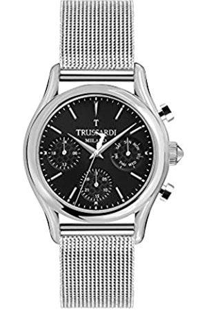 Trussardi Hombre Relojes - Reloj Multiesfera para Hombre de Cuarzo con Correa en Acero Inoxidable R2453127002