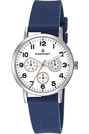 Radiant Hombre Relojes - RelojAnalógicoparaUnisexAdultosdeCuarzoconCorreaenCauchoRA448703