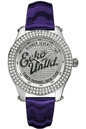 Marc Ecko Mujer Relojes - Reloj Análogo clásico para Mujer de Cuarzo con Correa en Cuero E10038M3