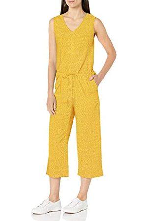 Amazon Sleeveless Linen Jumpsuit Jumpsuits-Apparel 40-42