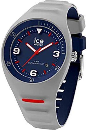 ICE-WATCH Hombre Relojes - P. Leclercq - Reloj para Hombre con Correa de silicona (Grey blue)