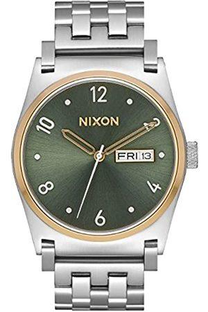 Nixon Reloj Analógico para Mujer de Cuarzo con Correa en Acero Inoxidable A954-2877-00