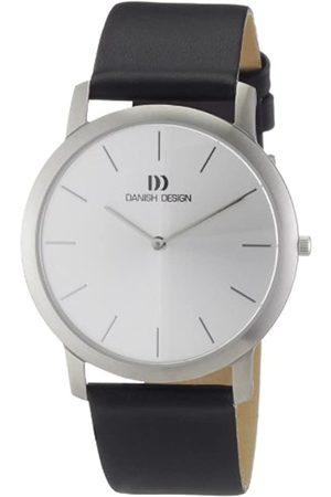 Danish Design Hombre Relojes - Reloj Analógico para Hombre de Cuarzo con Correa en Cuero IQ14Q807