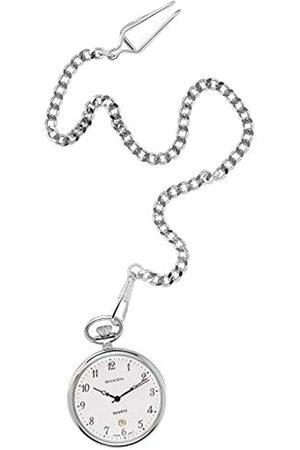 Shaon Reloj analógico para Hombre de Cuarzo con Correa en Acero Inoxidable 60-0001-18