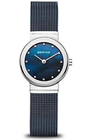 Bering Reloj Analógico Classic Collection para Mujer de Cuarzo con Correa en Acero Inoxidable & Cristal de Zafiro 10126-307