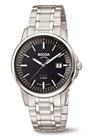 Boccia Reloj Analógico para Hombre de Cuarzo con Correa en Titanio 3643-04