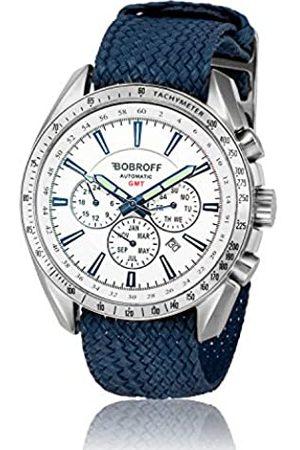 BOBROFF Reloj Analogico para Hombre Automatico con Correa En Perlon BF0015V2PA