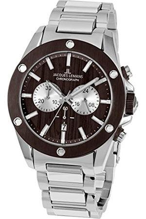 Jacques Lemans Hombre Relojes - Liverpool – Reloj de pulsera analógico de cuarzo Acero inoxidable 1 – 1812d