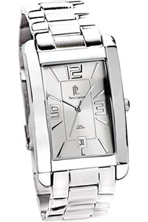 Pierre Lannier Hombre Relojes - 297B121 - Reloj analógico de caballero de cuarzo con correa de acero inoxidable plateada