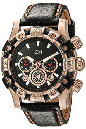 Carlo Monti CM122-322 - Reloj cronógrafo de Cuarzo para Hombre con Correa de Piel