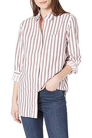 Goodthreads Seersucker Long-Sleeve Boyfriend Shirt Shirts L
