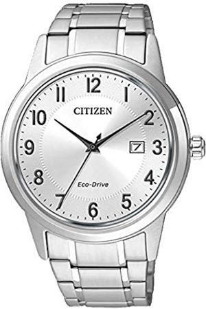 Citizen Hombre Relojes - Hombre Reloj de Pulsera analógico Cuarzo Acero Inoxidable aw1231 – 58B