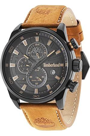 Timberland Hombre Relojes - Reloj Cronógrafo para Hombre de Cuarzo con Correa en Cuero TBL14816JLB.02