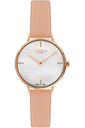 Lee Cooper Reloj Analógico para Mujer de Cuarzo con Correa en Cuero LC07040