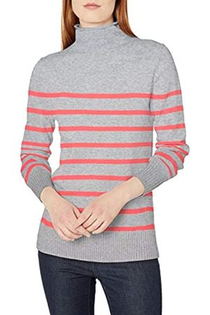 Amazon Mujer Jerséis y suéteres - Long-Sleeve 100% Cotton Roll Neck Sweater Pullover-Sweaters