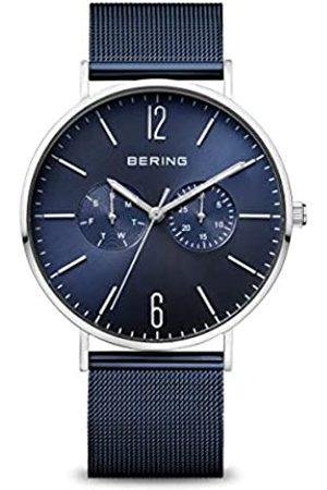 Bering Hombre Relojes - RelojAnalógicoparaHombredeCuarzoconCorreaenAceroInoxidable14240-303