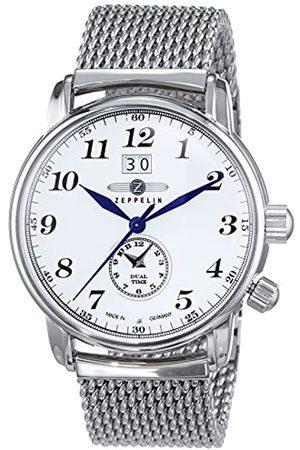Zeppelin Hombre Relojes - Watches-RelojanalógicodeCuarzoparaHombreconCorreadeAceroInoxidable