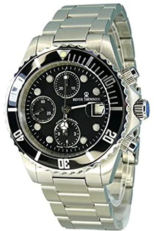 Revue Thommen Hombre Relojes - – Reloj de Pulsera para Hombre XL Diver Cronógrafo Automático Acero Inoxidable 17571.7137