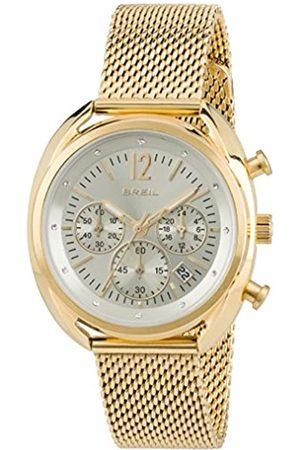 Breil Mujer Relojes - RelojCronógrafoparaMujerdeCuarzoconCorreaenAceroInoxidableTW1676
