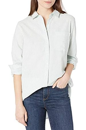 Goodthreads Seersucker Long-Sleeve Side-Button Shirt Shirts