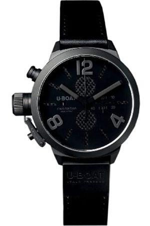 U-BOAT Classico 45 IPB Chrono Carbon 2278 - Reloj de Pulsera para Hombre (cronógrafo