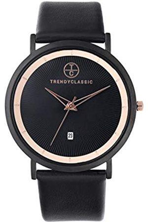Trendy Classic Reloj analógico para Hombre de Cuarzo con Correa en Cuero auténtico CC1054-02