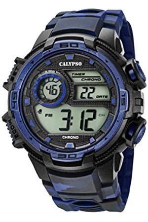 Calypso Reloj Digital para Hombre de Cuarzo con Correa en Plástico K5723/1