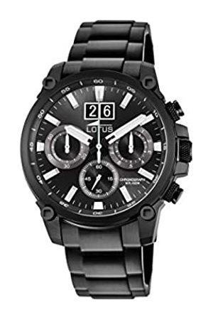 Lotus Reloj Cronógrafo para Hombre de Cuarzo con Correa en Acero Inoxidable 10141/3