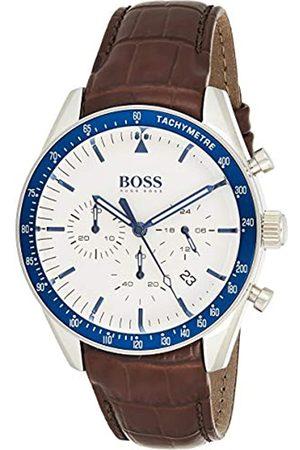 HUGO BOSS Reloj Cronógrafo para Hombre de Cuarzo con Correa en Cuero 1513629