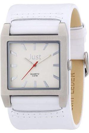 Just Watches Reloj analógico de Cuarzo para Hombre con Correa de Piel
