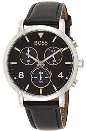 HUGO BOSS Hombre Relojes - Reloj Analógico para Hombre de Cuarzo con Correa en Cuero 1513766