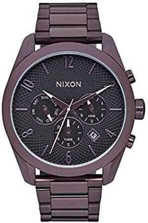Nixon Relojes - Unisex Reloj de Cuarzo con Esfera Analógica Cuarzo Acero Inoxidable a3662172 00