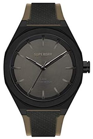 Superdry Hombre Relojes - Reloj Analógico para Hombre de Cuarzo con Correa en Silicona SYG349B