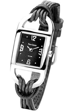 Pierre Lannier 205B633 - Reloj analógico de caballero de cuarzo con correa roja