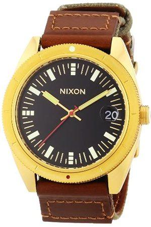 Nixon Rover Surplus/Gold A3551432-00 - Reloj analógico de Cuarzo para Hombre