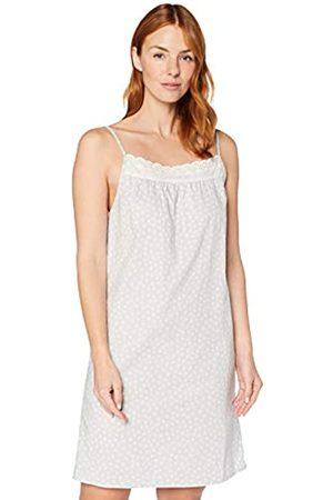 IRIS & LILLY Mujer Camisones y vestidos - Camisón Sin Mangas de Algodón Mujer, S