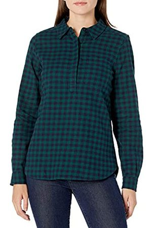Goodthreads Mujer Casual - Brushed Flannel Popover Shirt Dress-Shirts