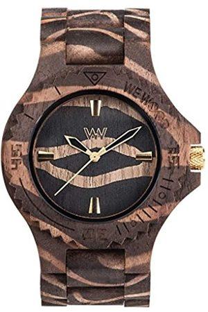 WeWood RelojAnalógicoparaHombredeCuarzoconCorreaenMaderaWW40002