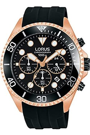 Lorus Hombre Relojes - Reloj Analógico para Hombre de Cuarzo con Correa en Silicone RT322GX9