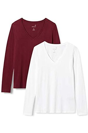 MERAKI Mujer Camisetas y Tops - AZJW-0026 Camiseta, 36
