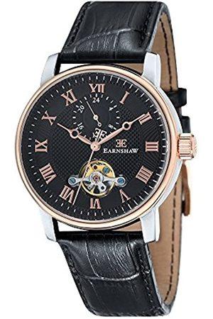 THOMAS EARNSHAW Hombre Relojes - ES-8042-04 - Reloj automático para Hombre con Esfera analógica y Correa de Cuero
