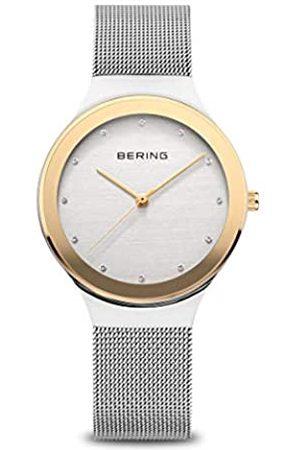 Bering Mujer Relojes - Reloj Analógico Classic Collection para Mujer de Cuarzo con Correa en Acero Inoxidable & Cristal de Zafiro 12934-010