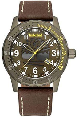 Timberland Reloj Analógico para Unisex Adultos de Cuarzo con Correa en Cuero TBL15473JLK.53