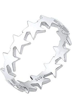 Elli Anillos El Astro Universo de las Damas Estrellas en Esterlina 925