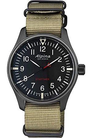 BASHERRY Hombre Relojes - Alpina Reloj AL-235B4FBS6.