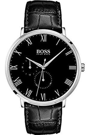 HUGO BOSS Hombre Relojes - Reloj Multiesfera para Hombre de Cuarzo con Correa en Cuero 1513616