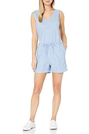 Amazon Sleeveless Linen Romper Jumpsuits-Apparel 48